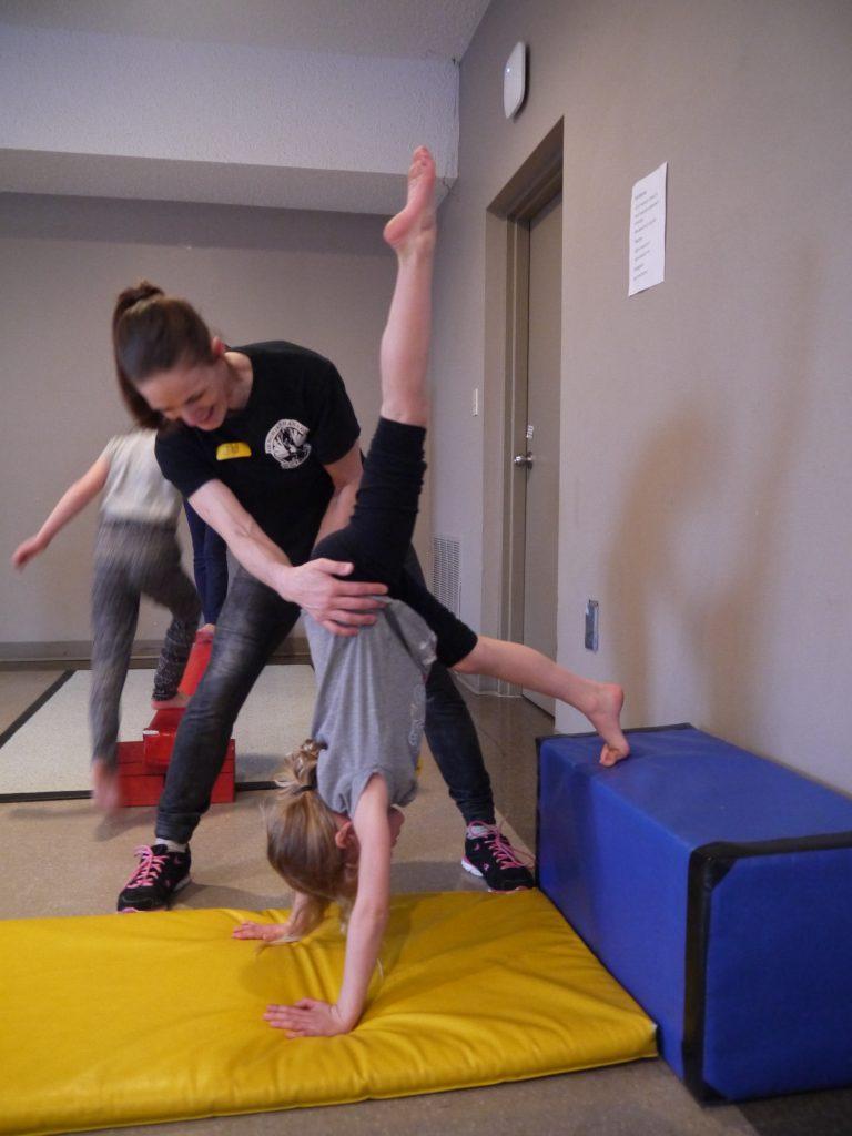 Gymnastics at Calgary Schools and Community Centres